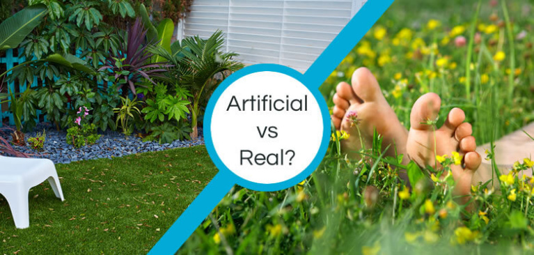 artificial vs real