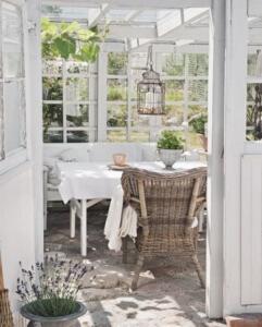 tea room conservatory